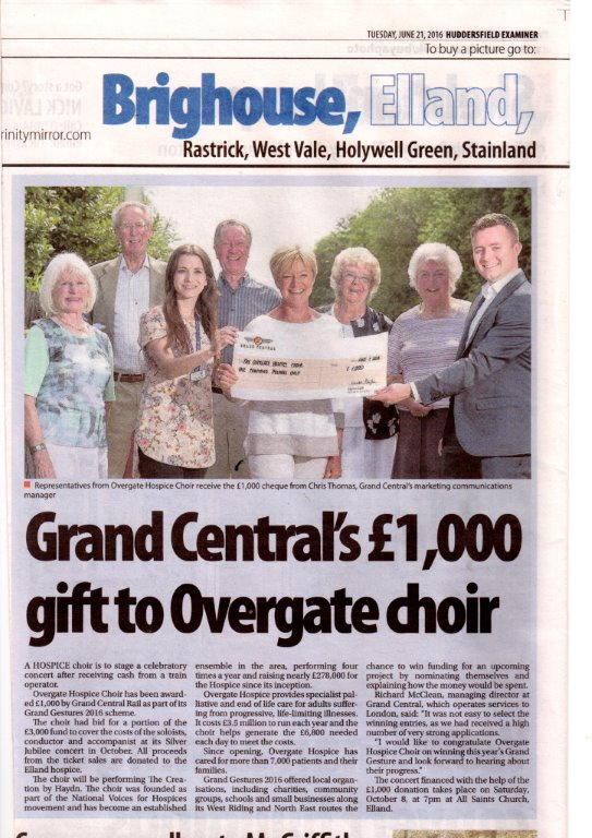 Hudds Examiner Grand Central 2016